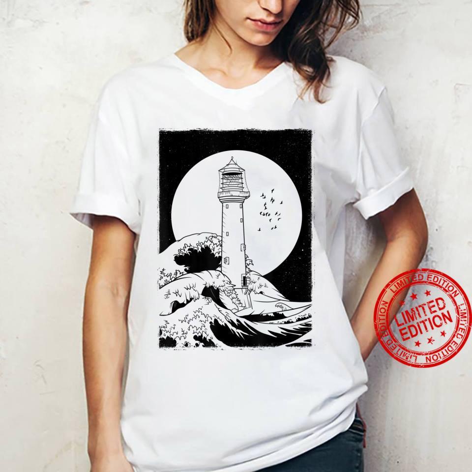 Bell Rock Lighthouse Scotland Shirt ladies tee