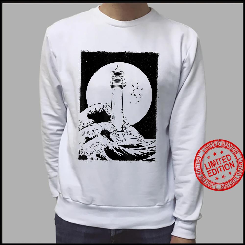 Bell Rock Lighthouse Scotland Shirt sweater