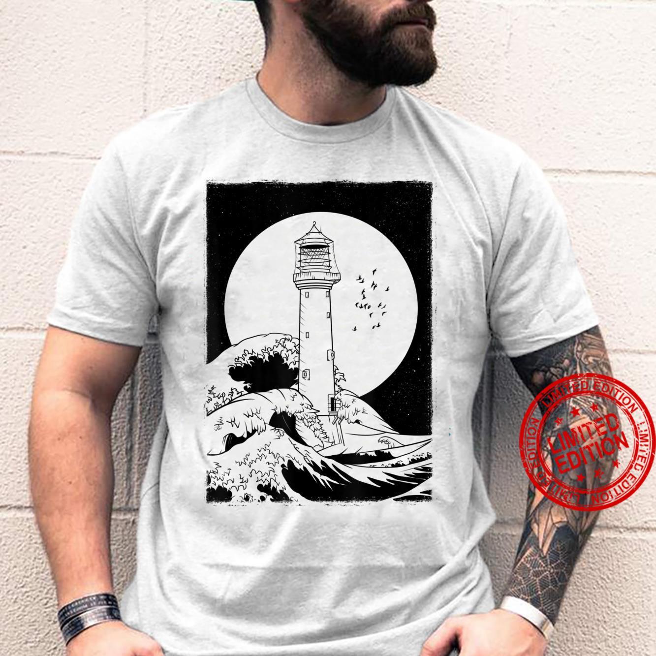 Bell Rock Lighthouse Scotland Shirt
