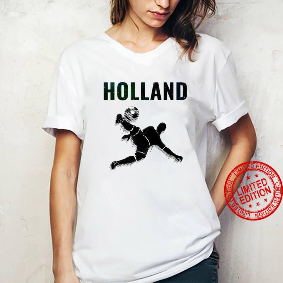 Holland Oranje T-shirt Netherlands Soccer Voetball 2020 Shirt ladies tee