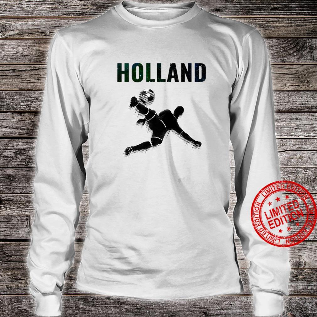 Holland Oranje T-shirt Netherlands Soccer Voetball 2020 Shirt long sleeved
