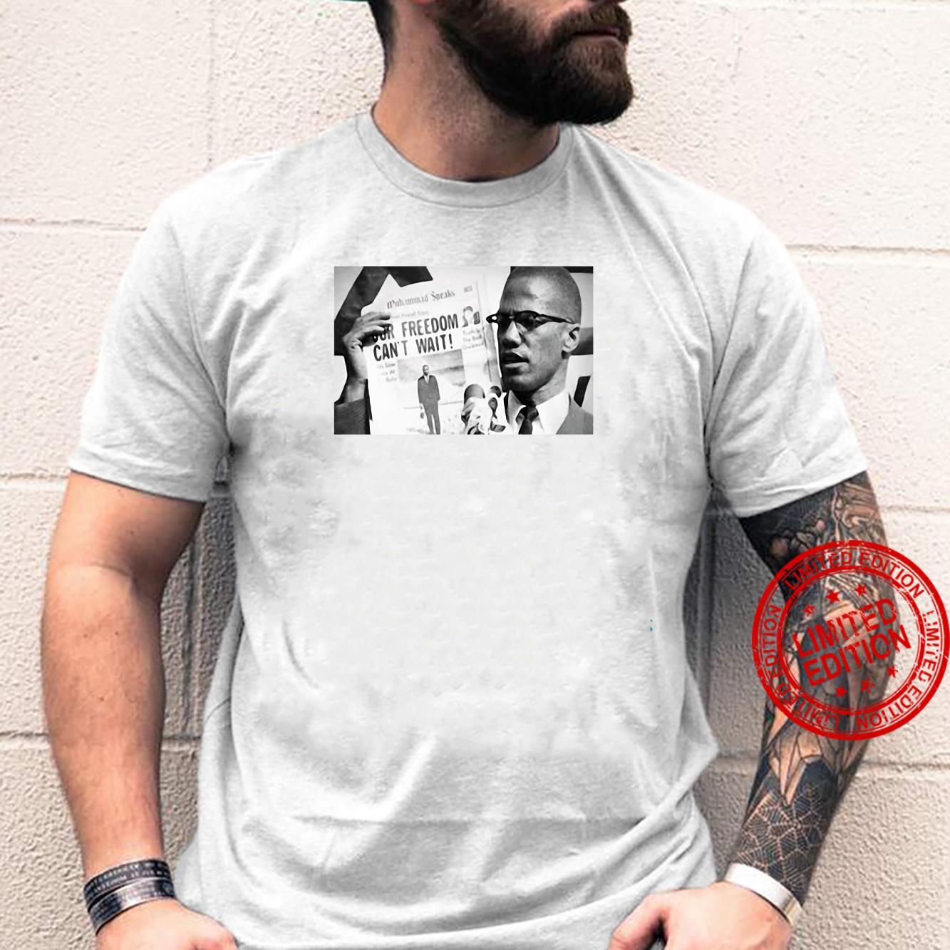 Malcolm X Freedom Cakt wait shirt