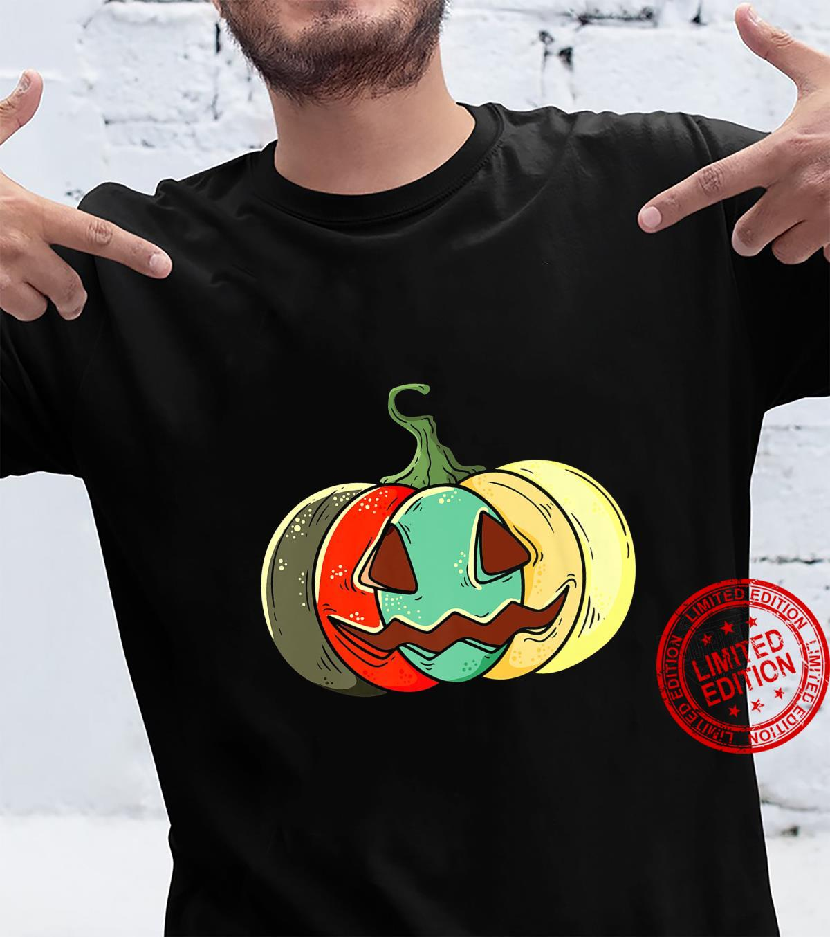 Retro Pumpkin Shirt