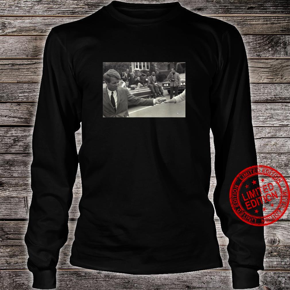 Robert F. Kennedy the Hero We Needed Shirt long sleeved