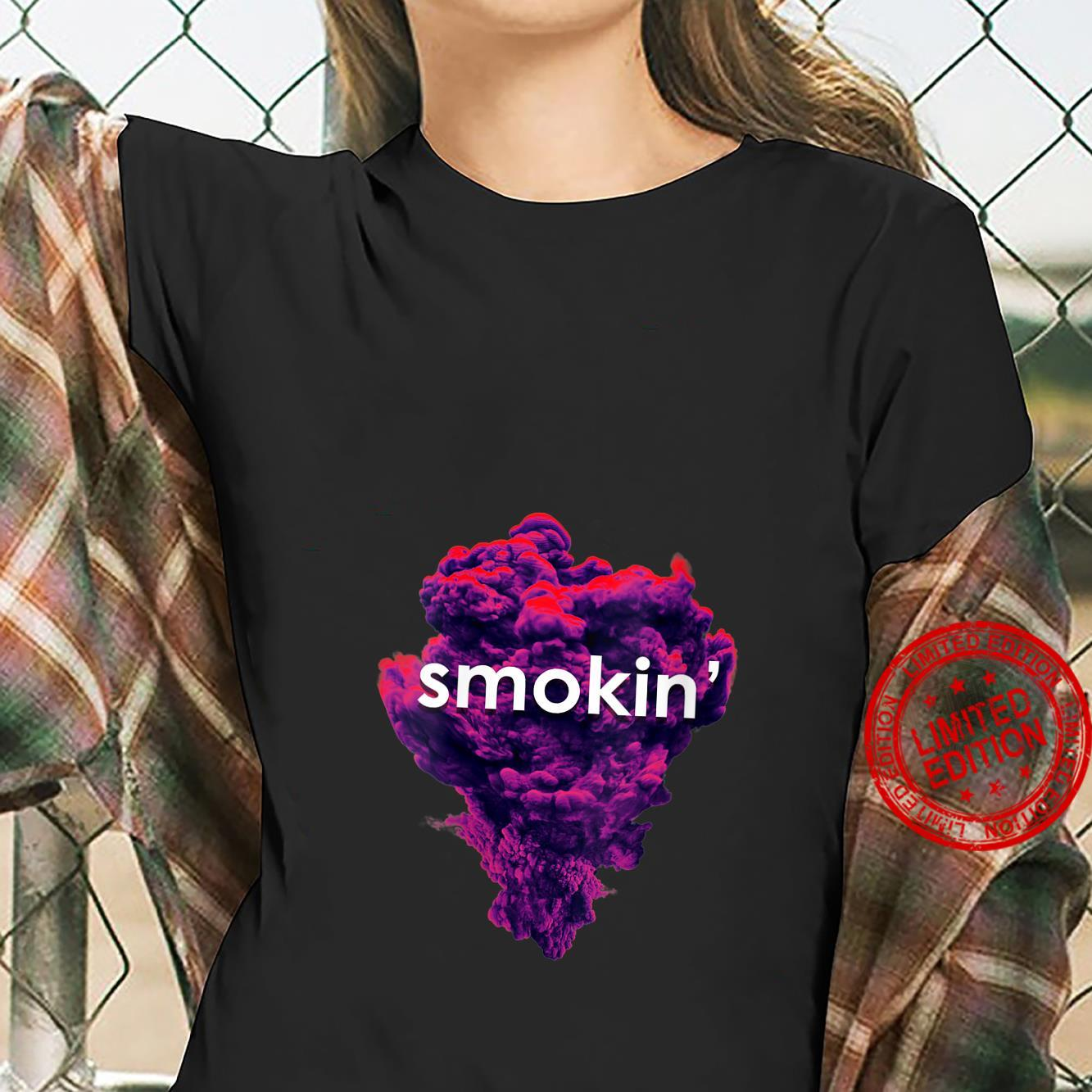 Smokin Weed Marijuana Bud THC Cannabis Pot Shirt ladies tee