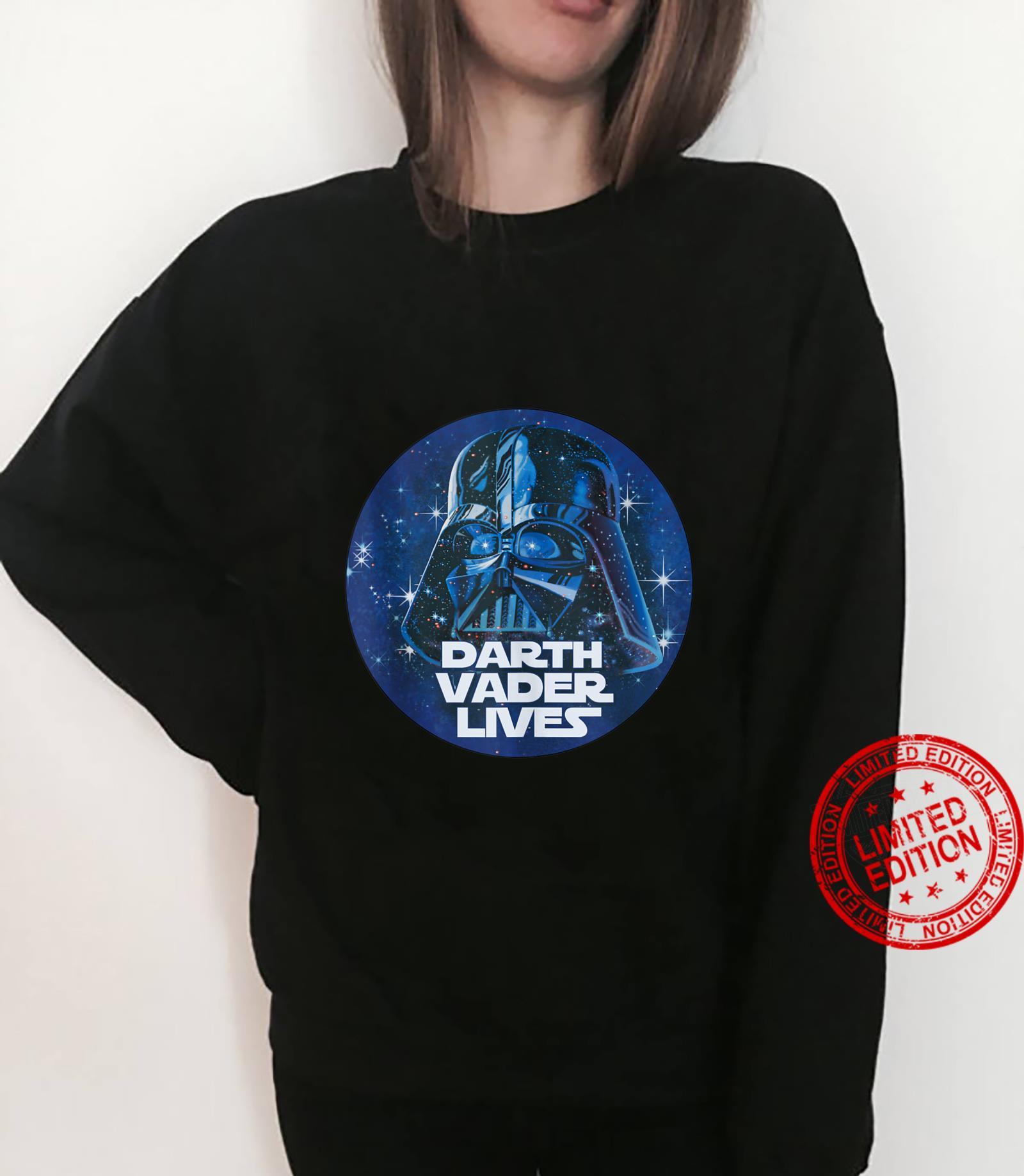 Star Wars Darth Vader Lives Circle Portrait Shirt sweater
