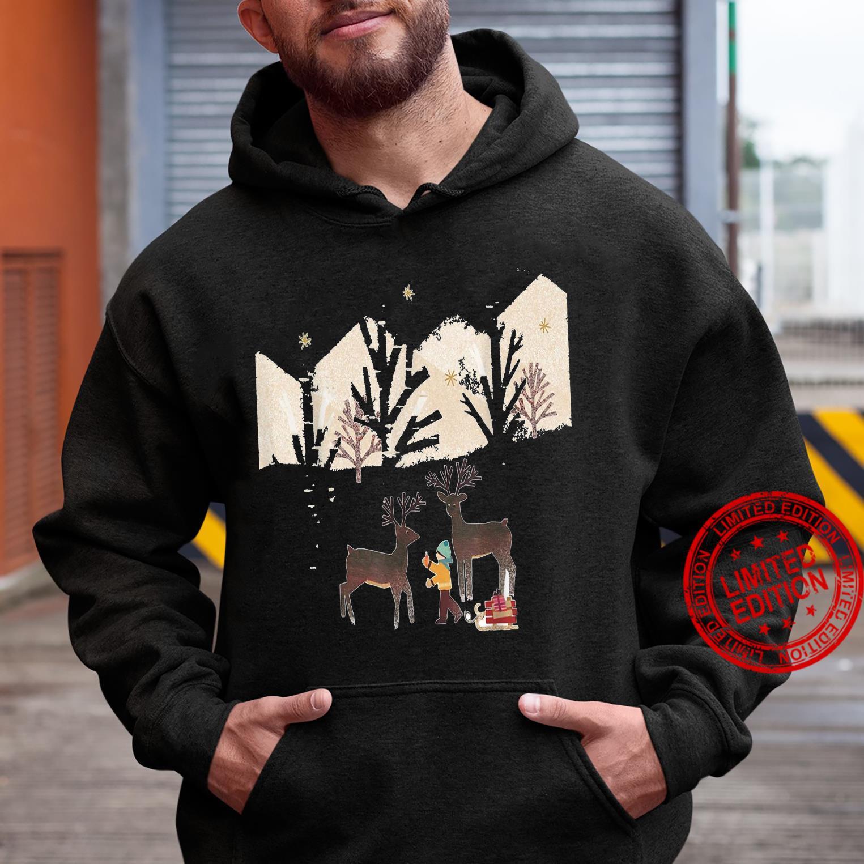 The most beautiful autumn Chrismas Shirt hoodie