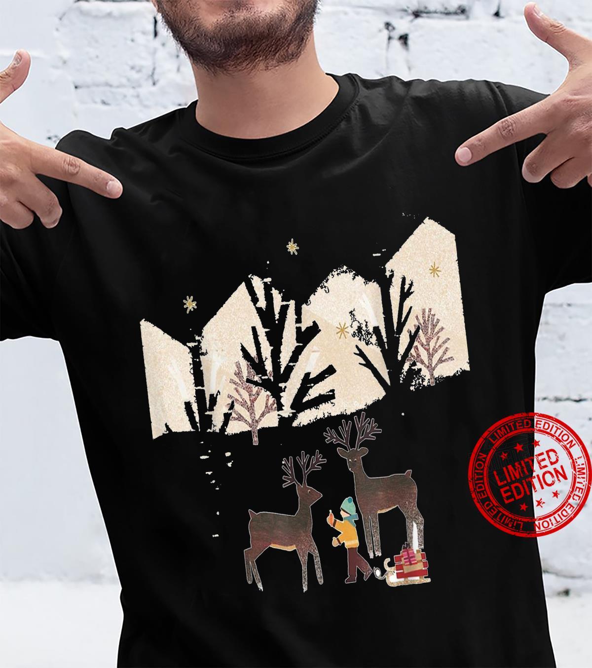 The most beautiful autumn Chrismas Shirt