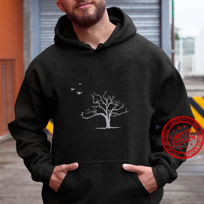Tree And Birds Nature Shirt hoodie