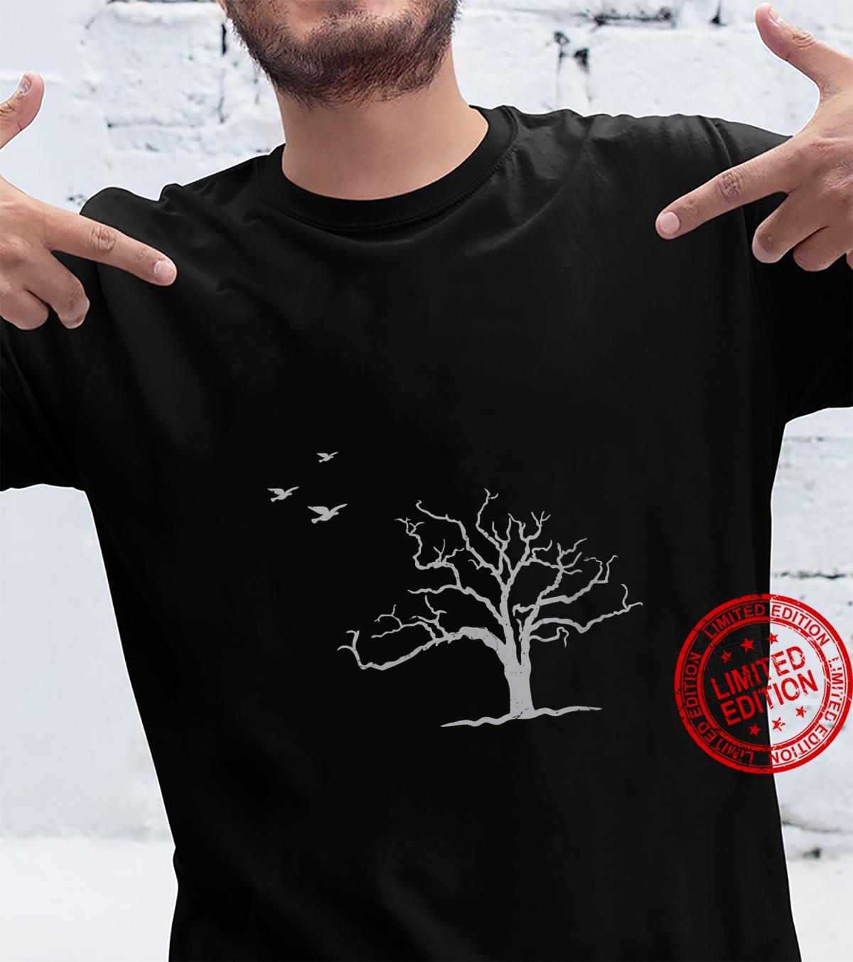 Tree And Birds Nature Shirt