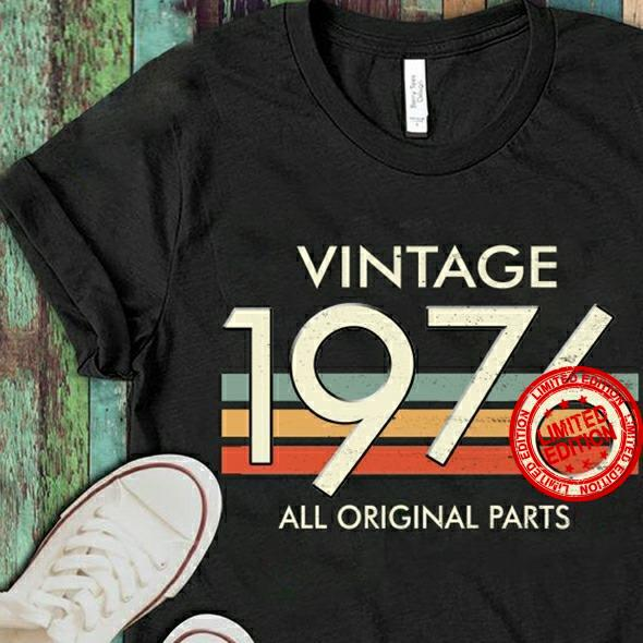 Vintage 1976 All Original Parts Shirt