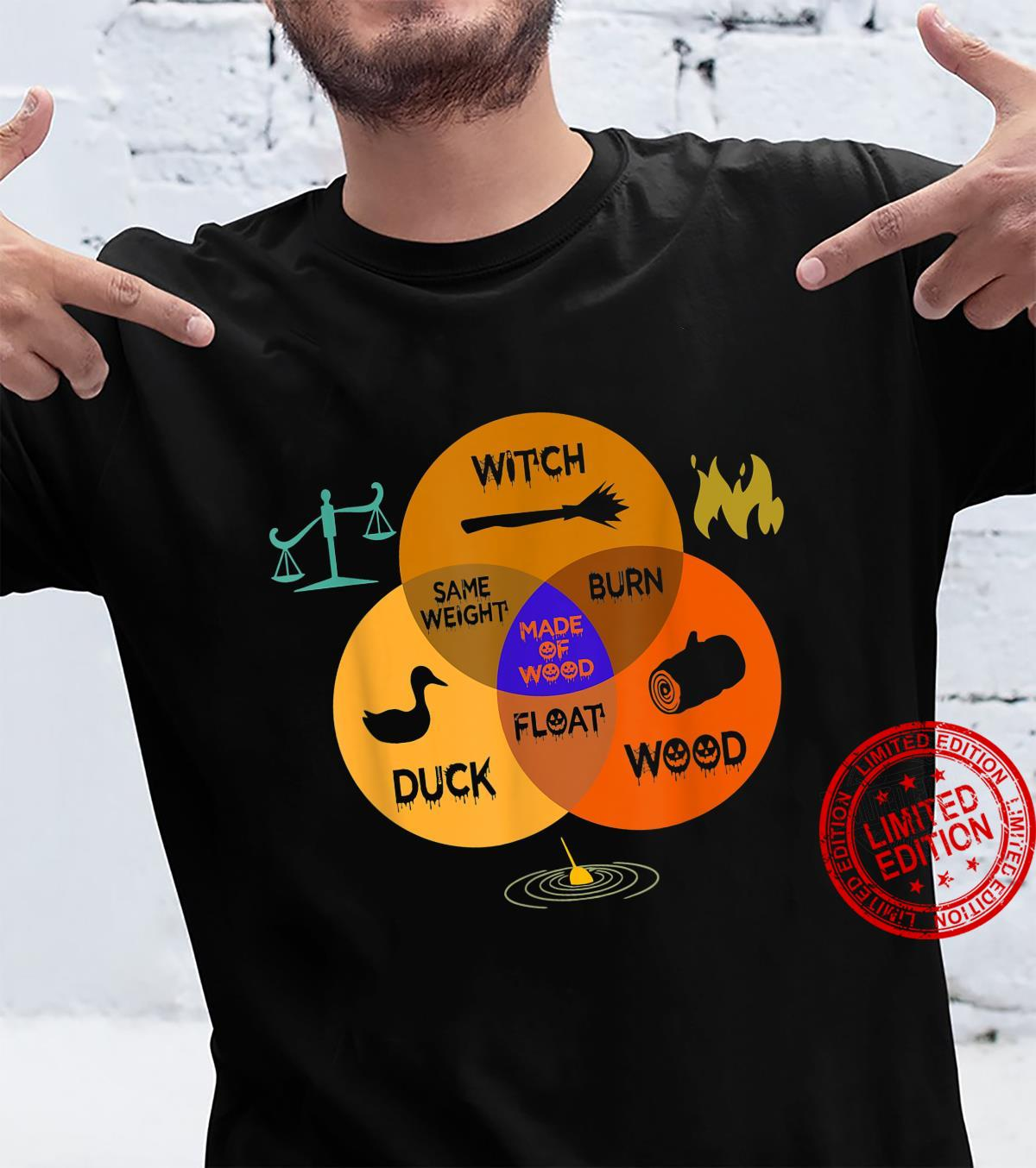 Witch Identification Funny Halloween Shirt