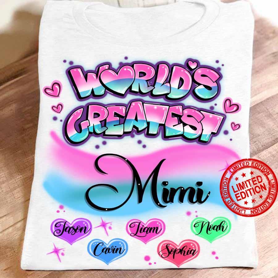World's Greatest Mimi Jason Liam Cavin Shirt
