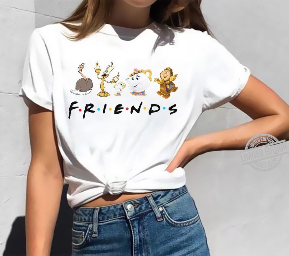 Beauty And Beast Character Friends Shirt