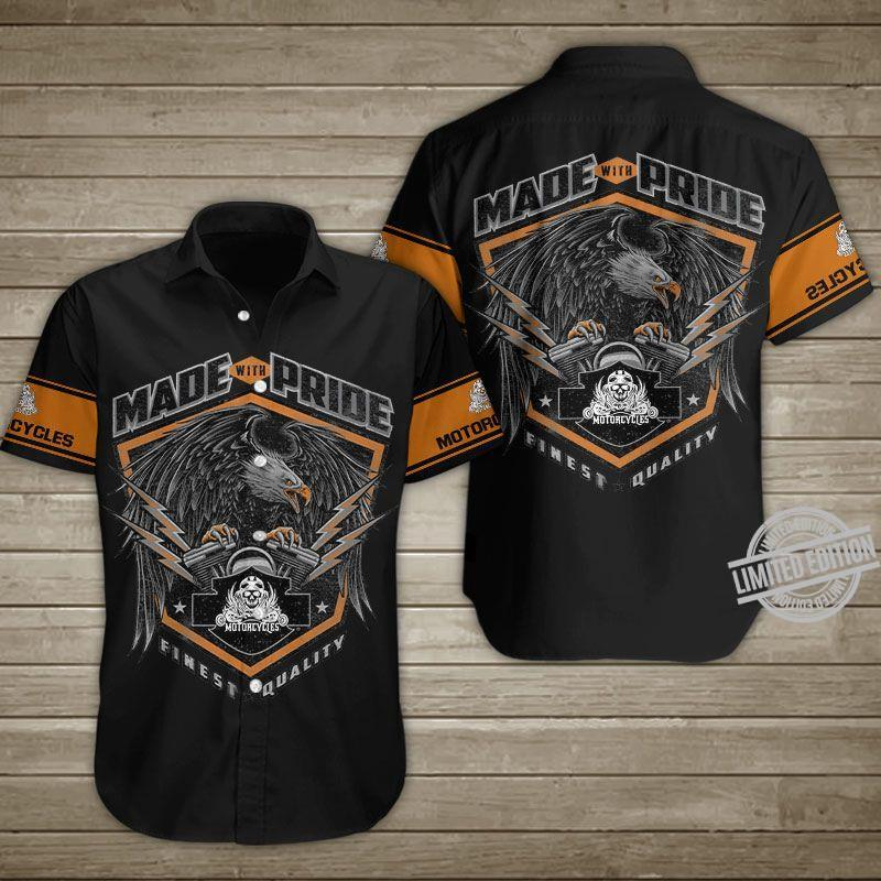 Made With Pride Motorcycle Finest Quality Shirt