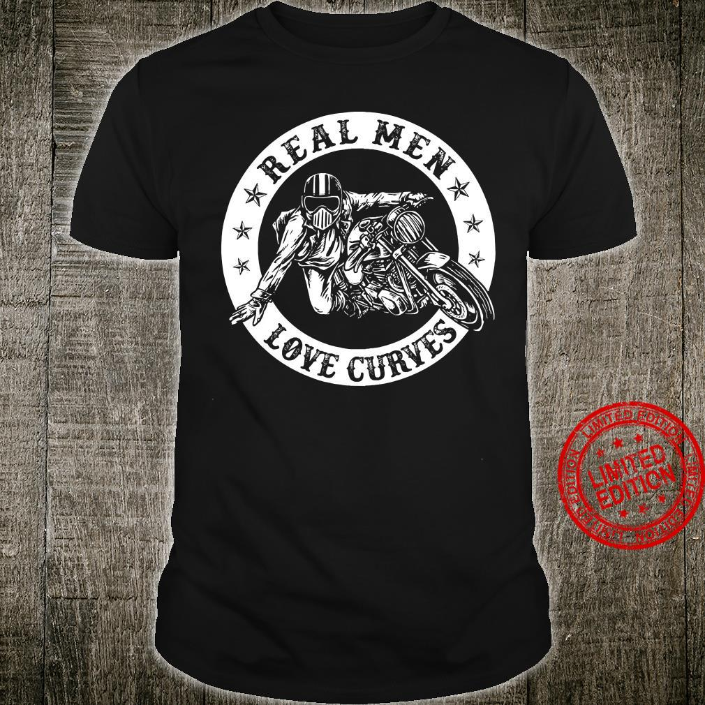 Real Men Love Curves Shirt unisex