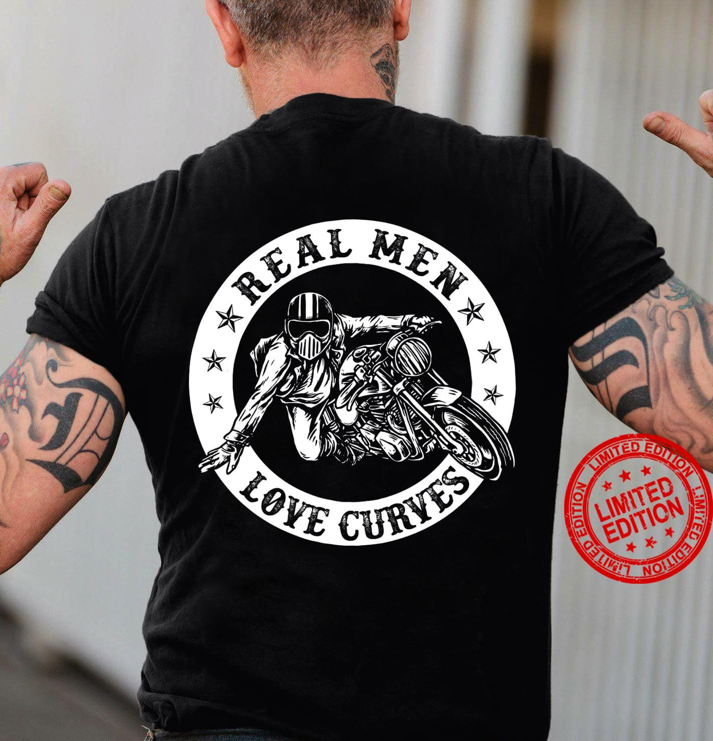 Real Men Love Curves Shirt