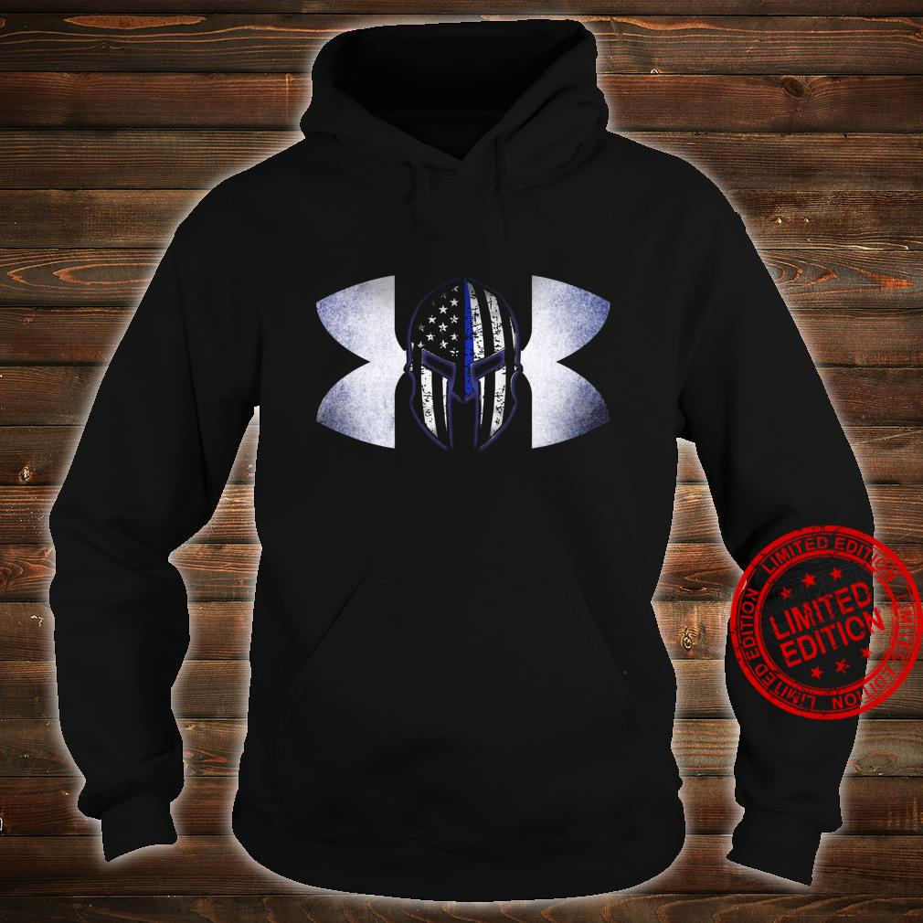 Under Armour Back The Blue Shirt hoodie