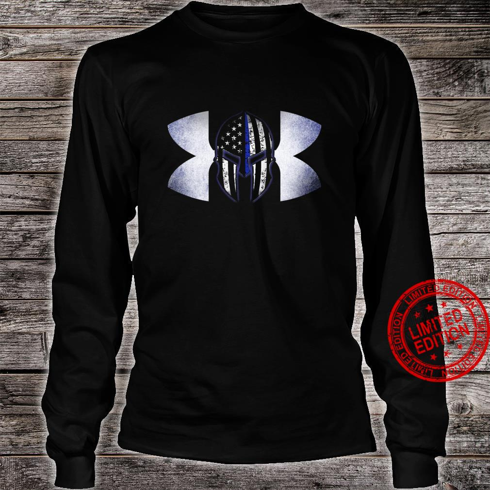 Under Armour Back The Blue Shirt long sleeved