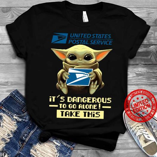 United States Postal Service It's Dangerous To Go Alone Take This Shirt